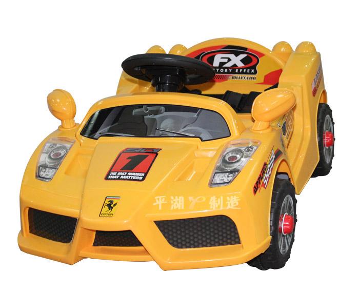 童车电玩车 迷你法拉利 儿童电动汽车 遥控四轮电动车 特价高清图片