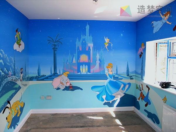 幼儿园手绘墙/幼儿园墙绘/幼儿园壁画