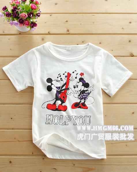 供应广州儿童t恤批发哪里有儿童服装批发杭州四季青