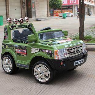 儿童电动车 遥控童车 四轮玩具车