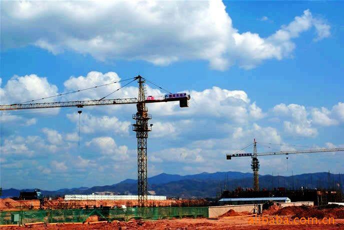 安徽建筑机械厂塔吊铭牌