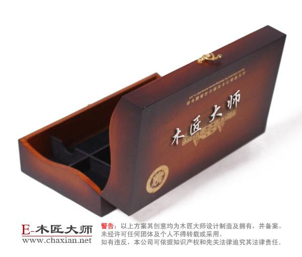 木质红酒盒 木头红酒盒加工【木匠大师】