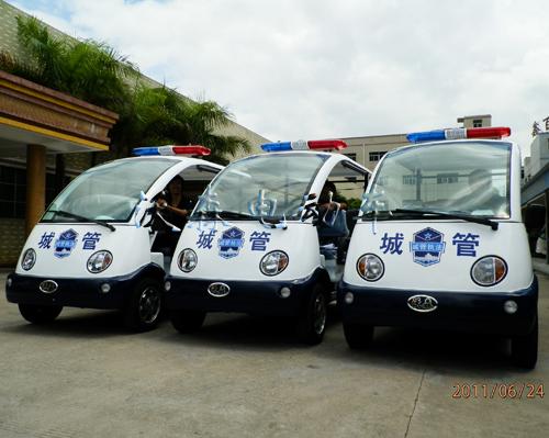 学院电瓶观光车四轮电动巡逻车价格_深圳市沃森电动车