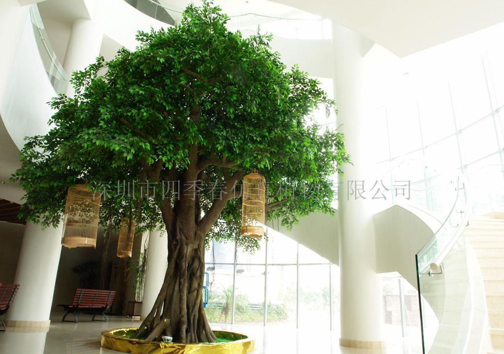 深圳市仿真榕树人造榕树