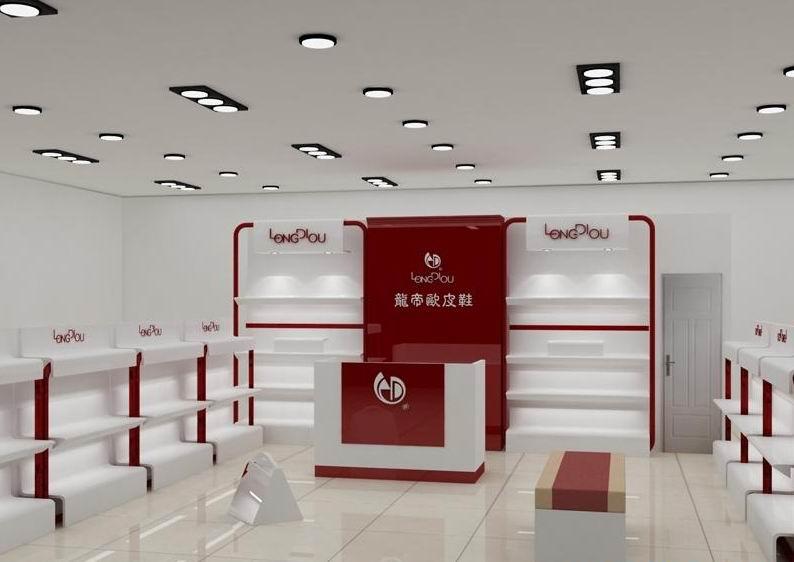 鞋店展柜|鞋店展柜设计订做|化妆品店面设计