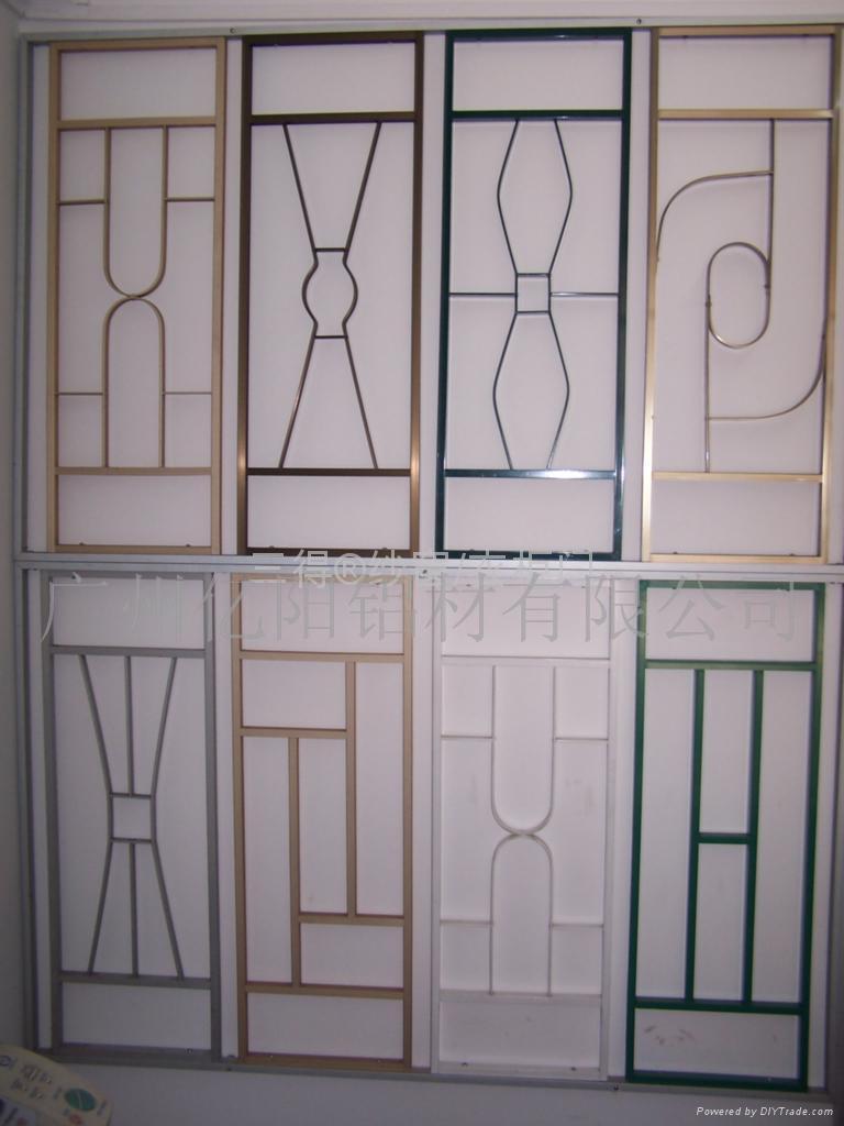 安装隐形防盗网,无框阳台窗,防蚊纱窗,窗花,铝合金窗