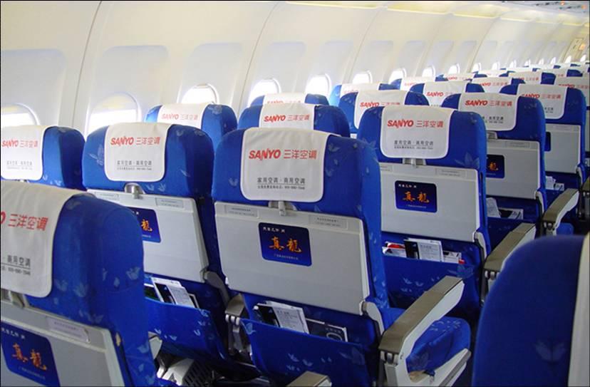 供应飞机座椅头巾广告/南方航空座椅头巾广告