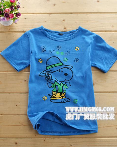 广州儿童t恤批发哪里有儿童服装批发杭州四季青童装
