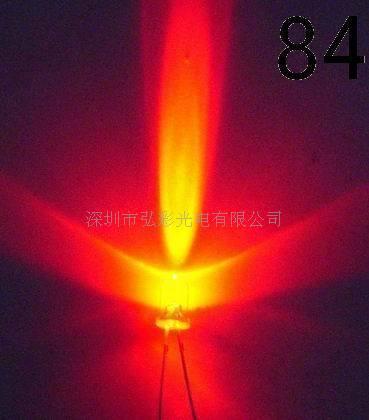 供应红色led发光二极管