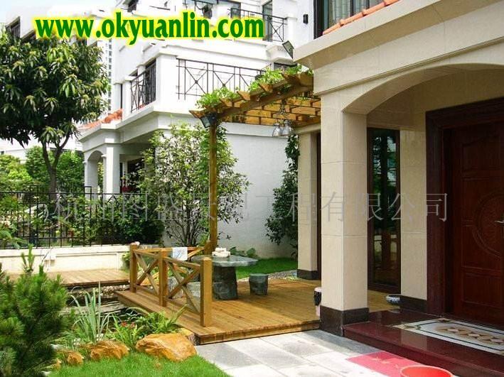 别墅私家庭院景观设计手法