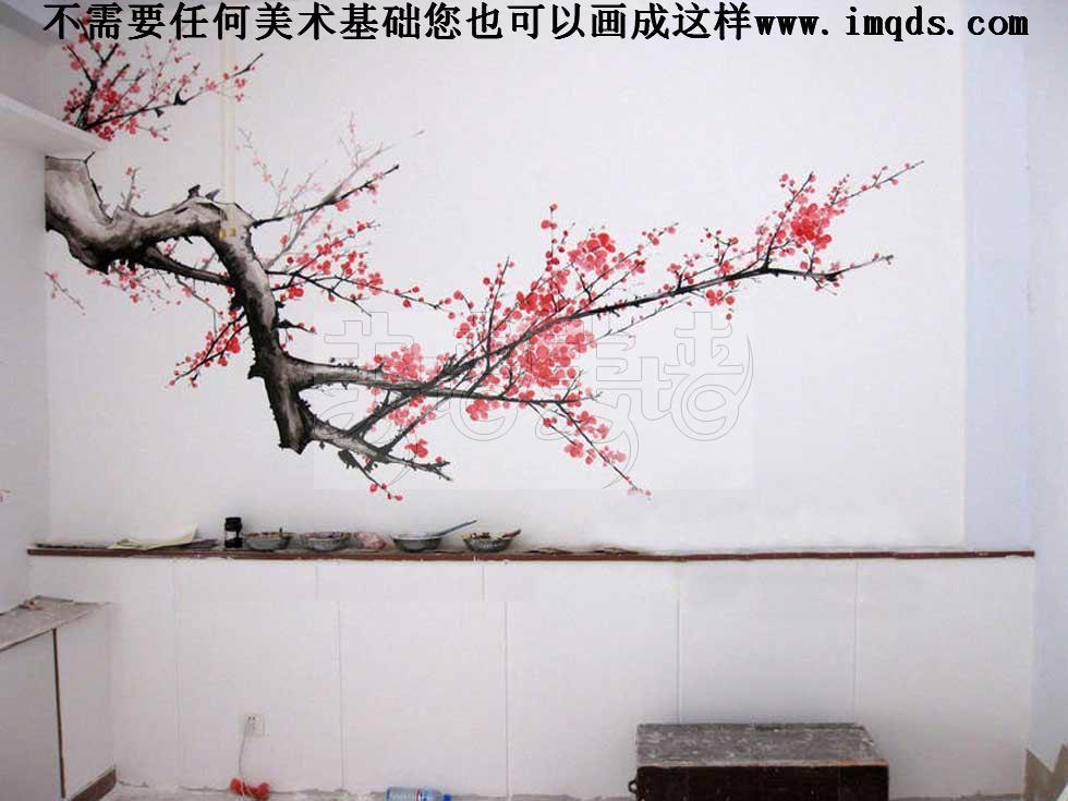 供应美墙大师diy手绘墙画手绘墙素材手绘墙图片手绘