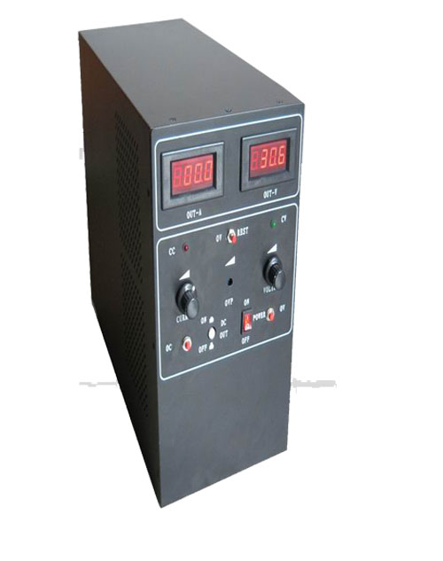 供应大功率线性直流稳压电源 深圳变频电源 变频变压电源 稳压稳频电源 深圳市恒鑫隆科技有限公司诚招全国代理商 www.szhxlkj.com 一、HX-系列电源特点:1、输出电压、输出电流可从零设置。2、输出电压可预置并带有输出直流开关,方便用户使用。3、过压点可设置并可预视过压值。4、稳流点可从零到额定值,稳流点可预视。5、高频开关技术与传统线性串联调整技术完美结合,继承了传统电源稳压精度高纹波电压小的优点又克服了传统电源工频变压器工频电感体积大、苯重效率低等缺点。该电源具有体积小、量轻、效率高外观新颖