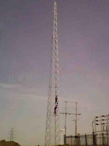 供应gfl型1-7角钢25米避雷针塔