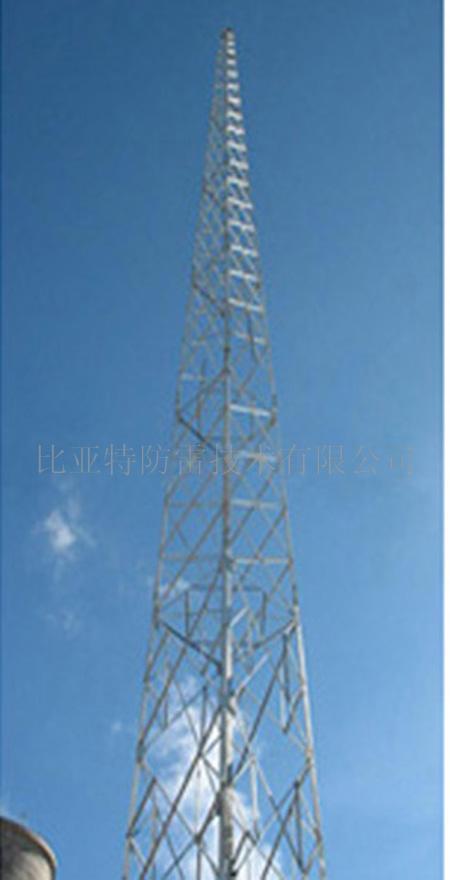 供应gfl型1-8角钢25米避雷针塔