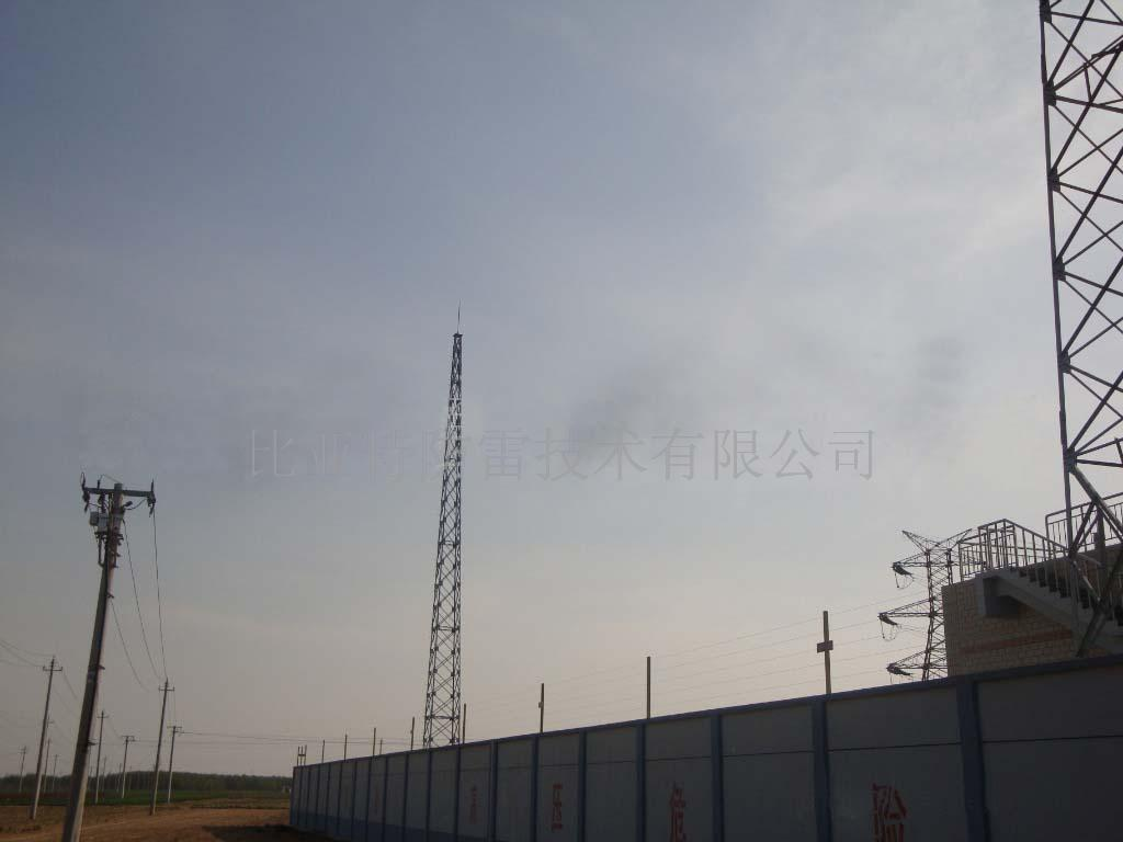 供应gfl型1-12角钢30米避雷针塔