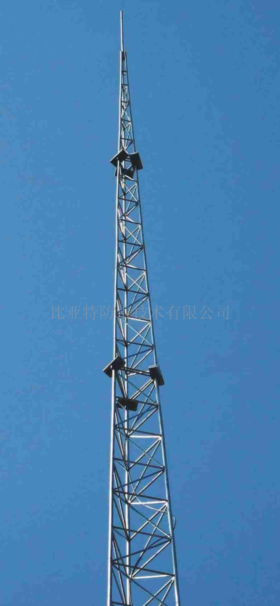 供应gjt—6三柱20米避雷针塔