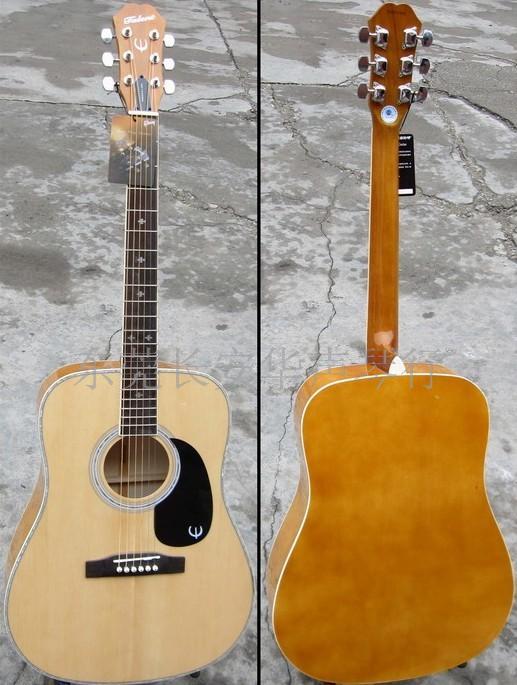 泰伦达品牌吉他 talent 名牌吉他 其它地区的朋友请与我联系商量其它的交易方式进行购买。 评测: Gibson是世界最著名品牌,只有真正的Gibson吉他才是世界最好的吉他之一。Talent是世界著名品牌Gibson旗下续Epiphone之后的下属品牌,是专为适应亚洲市场开发的品牌。源承自Epiphone经典工艺和设计的Talent吉他,音色独特,性能卓越;极具震撼力的性价比,更让Talent傲视同价位的任何吉他,将为您的演奏带来前所未有的激情与灵感!从现在起以低廉的价格拥有一把国际品质的好吉他不再是