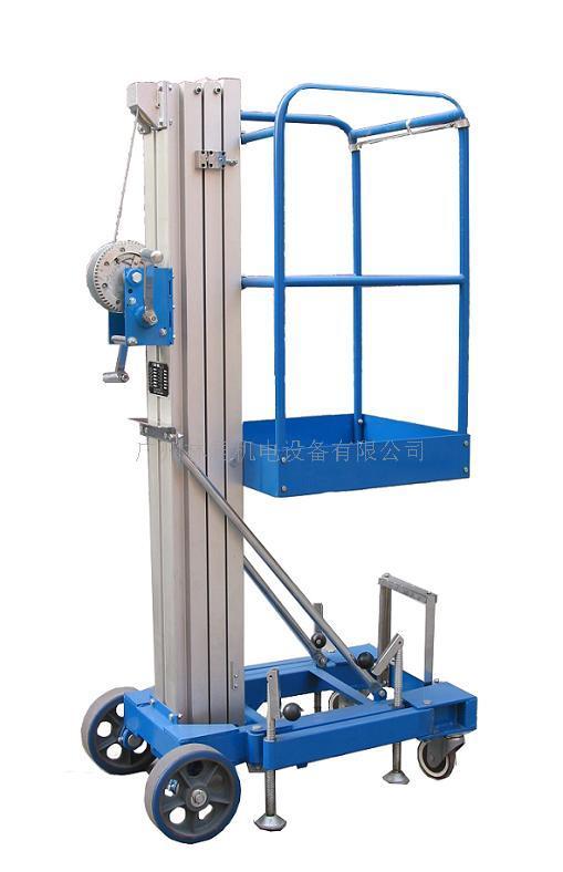 供应升降机/手动式升降机/成都升降平台/液压升降梯图片