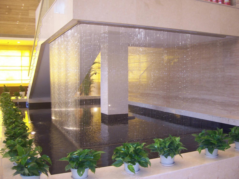 酒店大堂室内水景