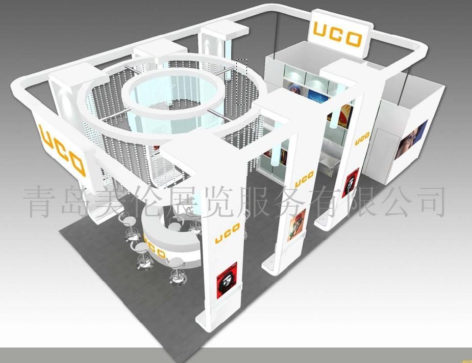 青岛美伦展览展示 展台设计 展台搭建 桁架租赁