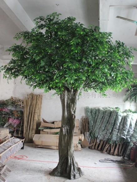 深圳市园林假树假榕树 假椰子树 假海藻树