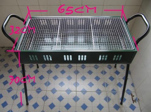 供應戶外便攜式烤爐 不銹鋼燒烤架 節日特價促銷