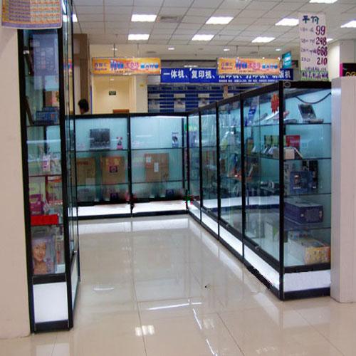 互联网商城公司货架展厅