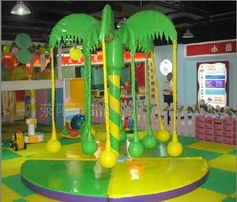 供应儿童游乐设备椰子树秋千