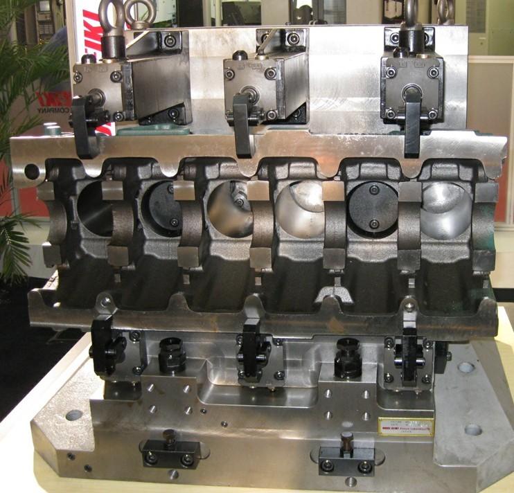汽车零部件液压夹具_无锡市诺维信精密机械有限公司