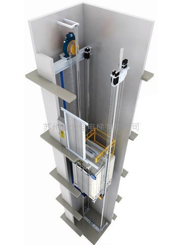 图纸_无机房电梯图纸_无机房电梯土建图纸_通力无