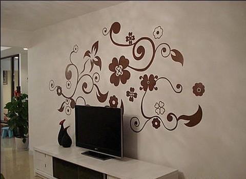 西安电视手绘墙西安电视背景墙西安手绘电视墙