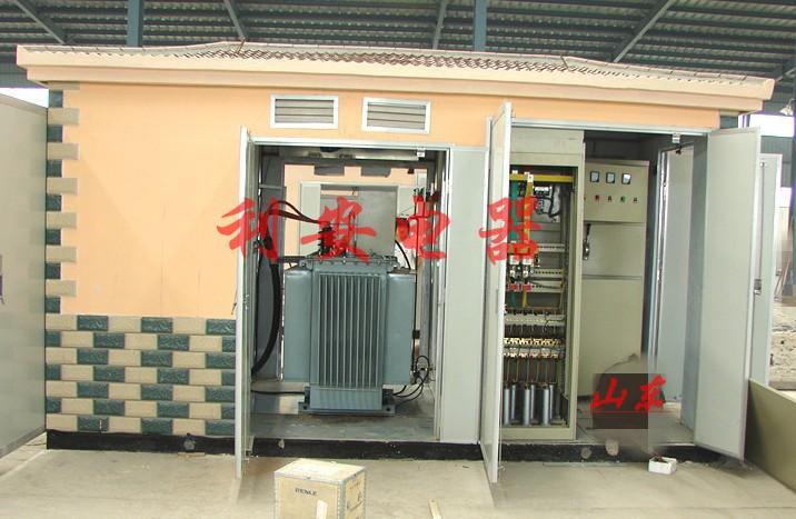 供应箱式变压器 箱式变电站 滨州箱变外壳图片