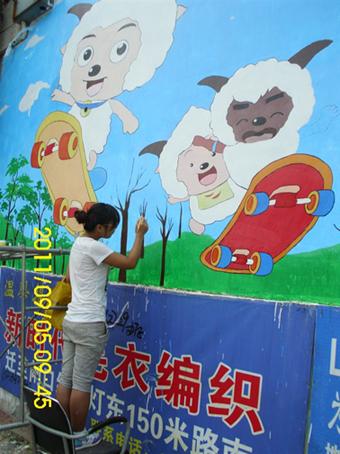 供应聊城幼儿园墙体彩绘室内墙体彩绘仿古墙体彩绘
