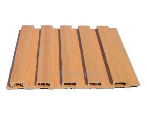 供应生态木装饰板_木丝吸音板