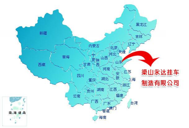 解放时期的临汾市地图