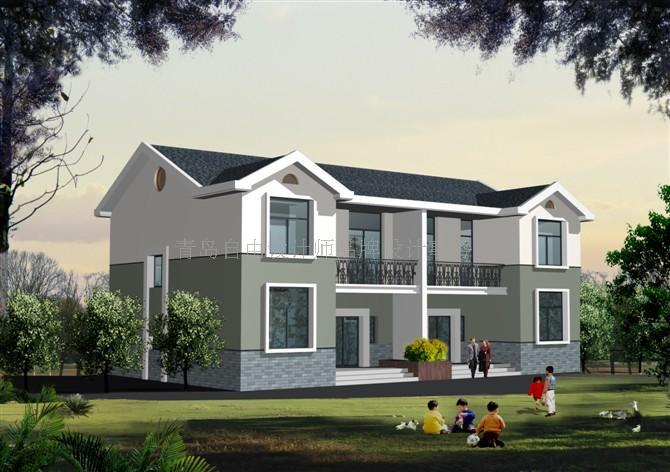 承接农村自建别墅效果图设计