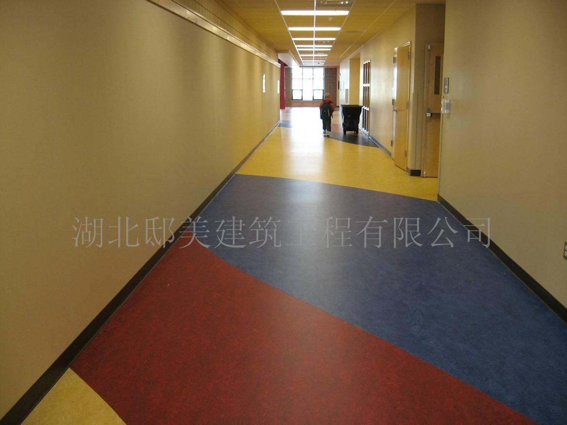 湖北pvc塑胶地板 武汉幼儿园pvc地板
