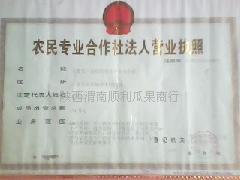 陕西渭南顺利瓜果商行